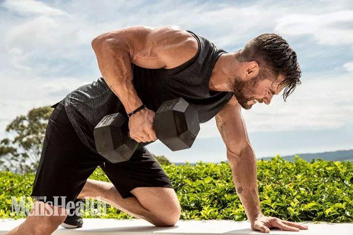 """Thor"" Stars Chris Hemsworth Covers Men's Health Magazine"