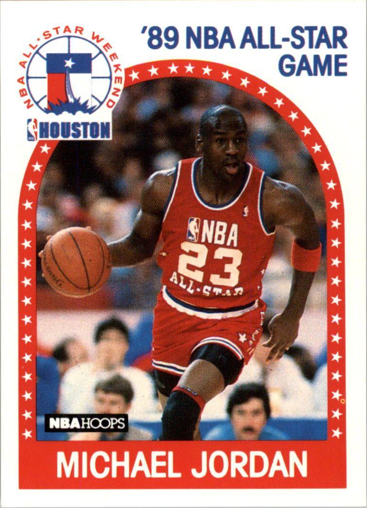 michael jordan basketball card value 1990