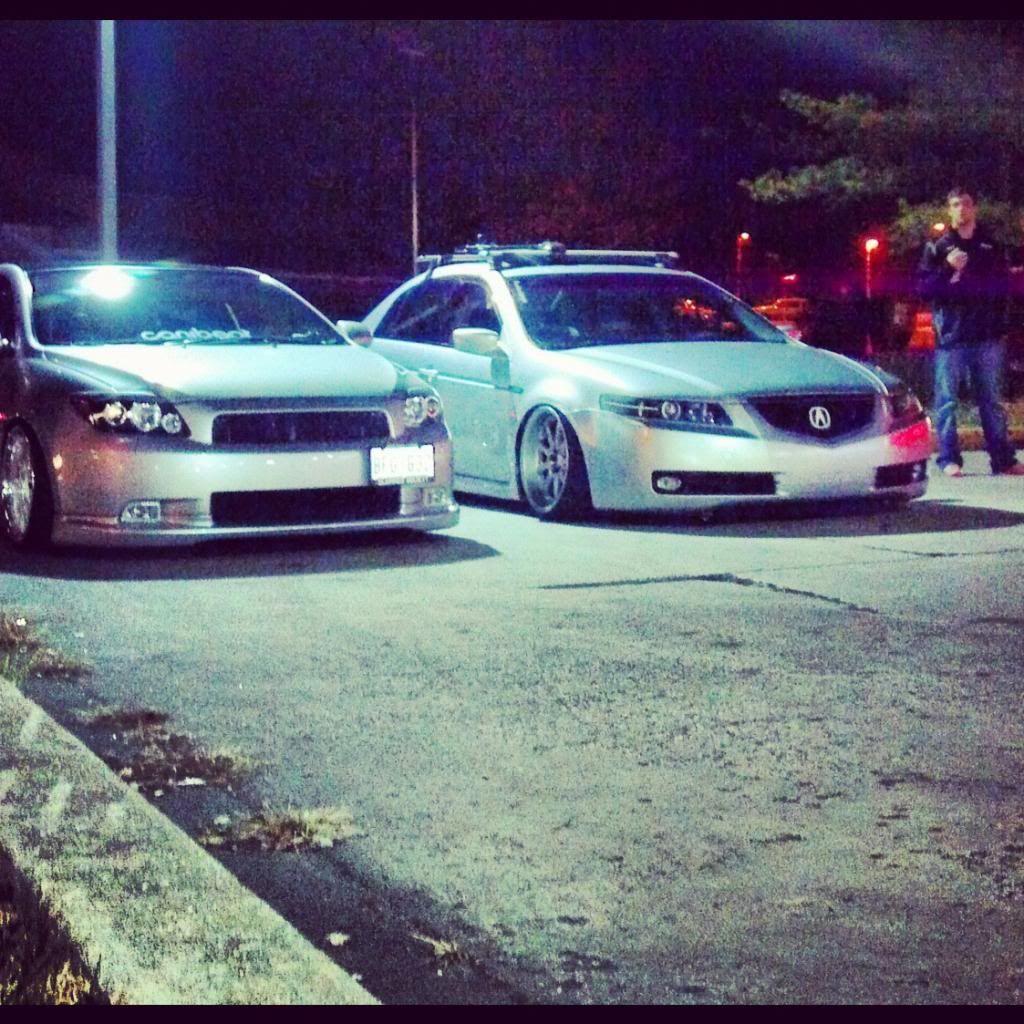 Stanced 05 Acura Tl Stanceworks Acura Tl Acura Honda