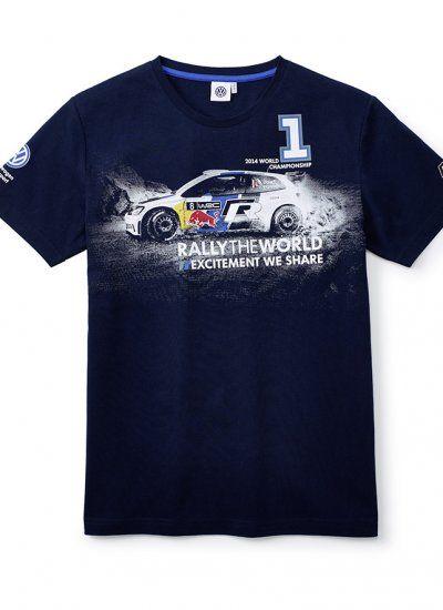 VW Motorsport WRC 2014 Car T-shirt