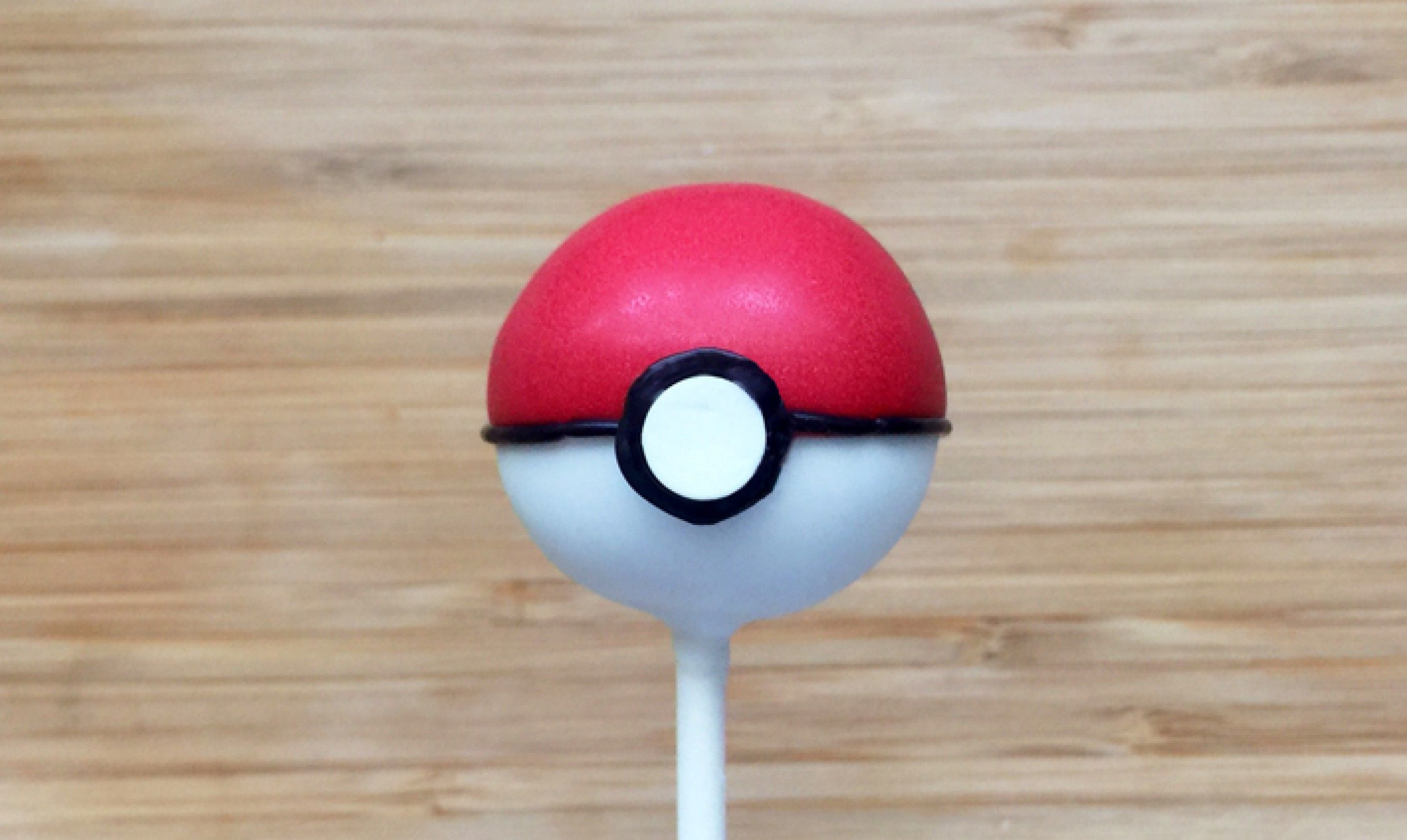 We Choose You Pokeball Cake Pops An Awesome Recipe Anyone Can