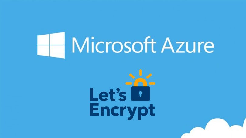 How To Setup Let's Encrypt SSL Certificates For An Azure