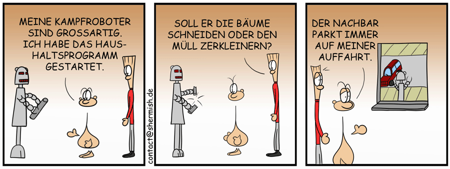 Roboter Parkassistent