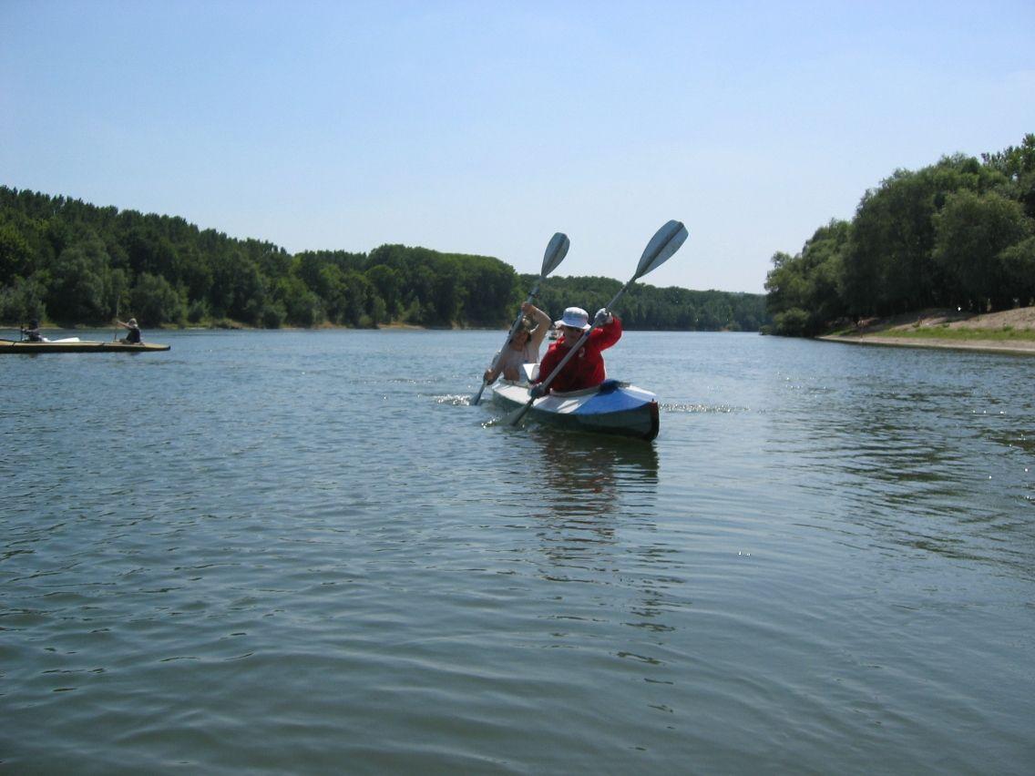 Not only biking, kayaking too