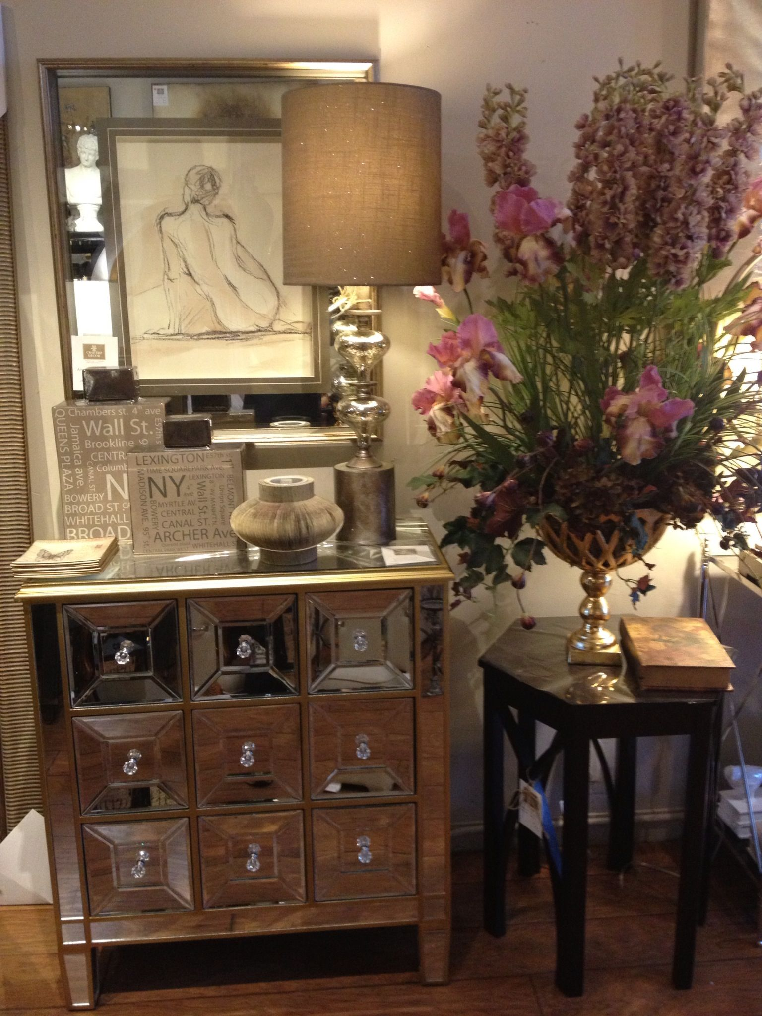Home Decor Mississauga | Home Decor Available Crafted Decor Mississauga Mirrored Dresser