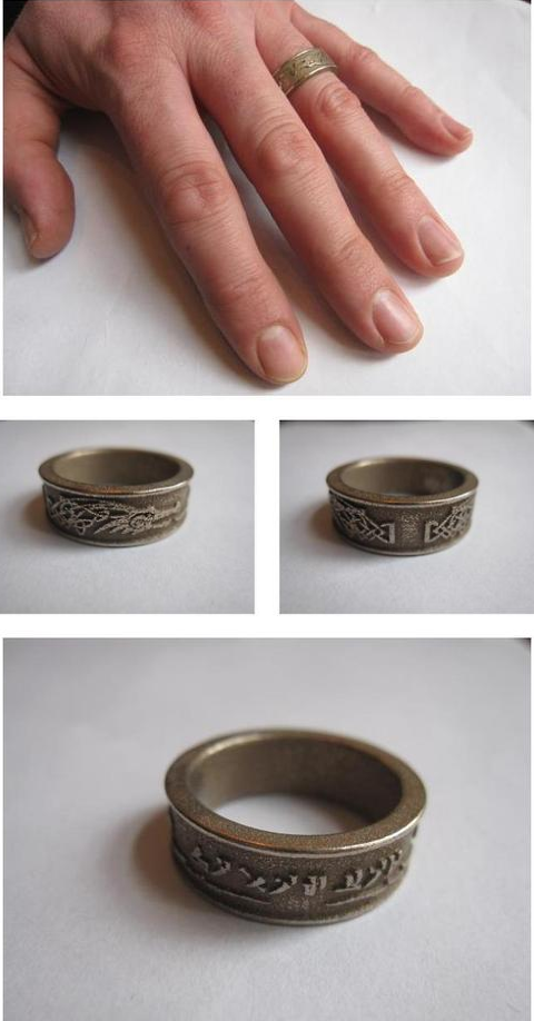 Skyrim Dovahkiin Ring by ~Enlightenup23 on deviantART