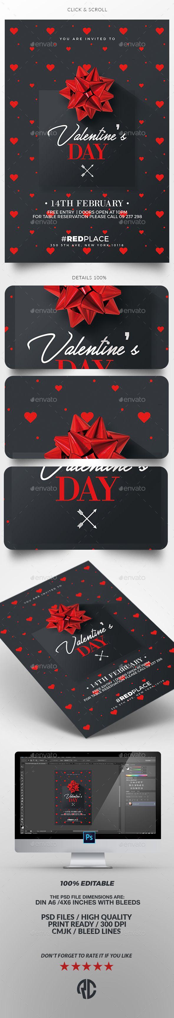 Valentines day invitation psd template card templates template valentines day invitation card template psd stopboris Choice Image