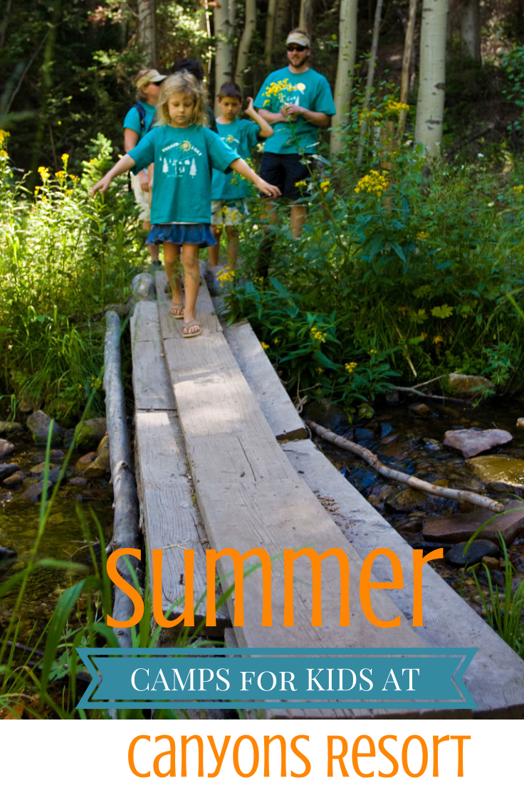 Summer camps and childcare at #Canyons Resort #Utah. # ...