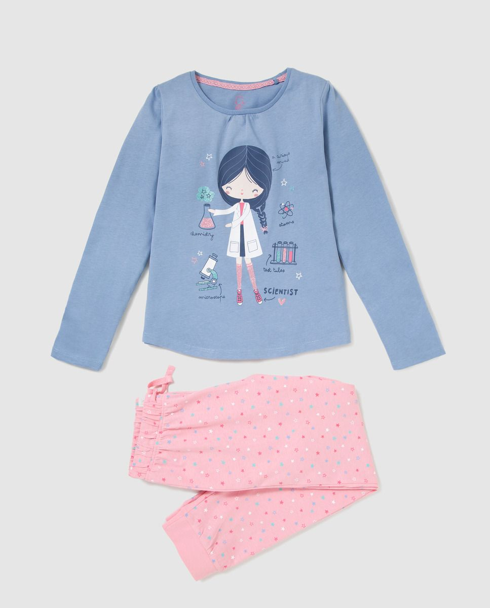 Pijama de niña Unit Muñeca · Moda y Accesorios · Hipercor  5f8d677fe4a