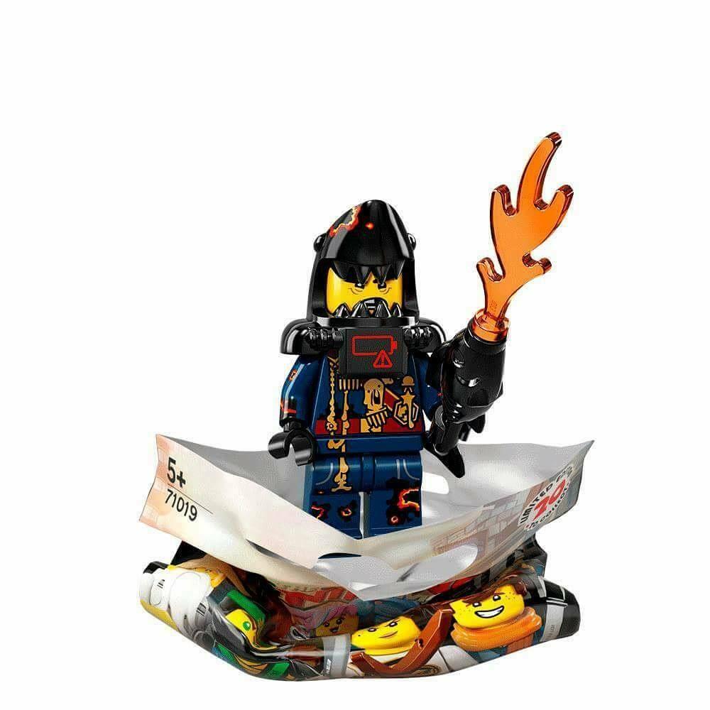 New LEGO The Ninjago Movie Minifigure Series Great White Figure