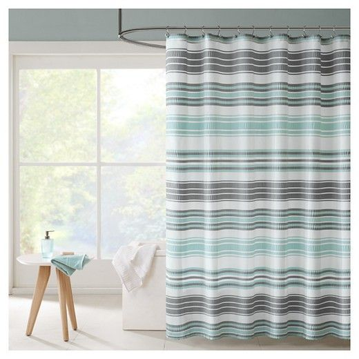 Raquel Stripes Puckering Stripe Shower Curtain Target Striped