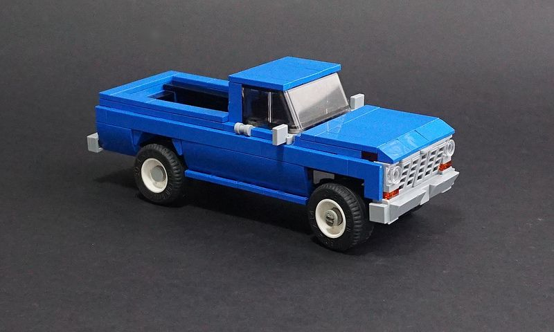 Lego 1978 Ford F 150 4x4 03 Lego Truck Lego Cars Lego