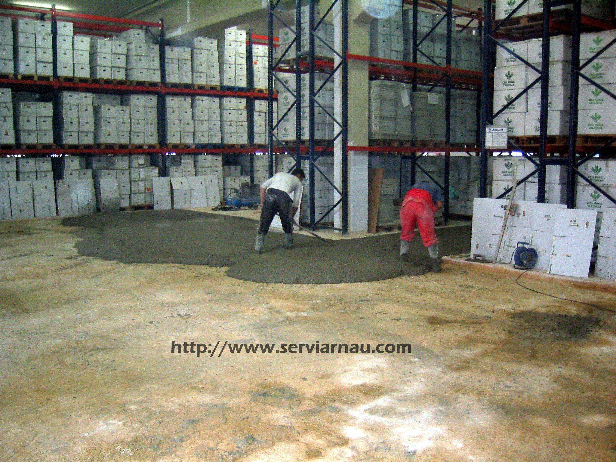 Nivelacion del hormig n para aplicaci n de resina epoxi for Resina para hormigon