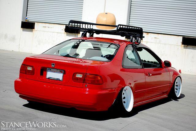 Very Similar To One I Had Back In 95 Until 02 What Fun It Was Honda Vtec Jdm Honda Honda Civic Sedan