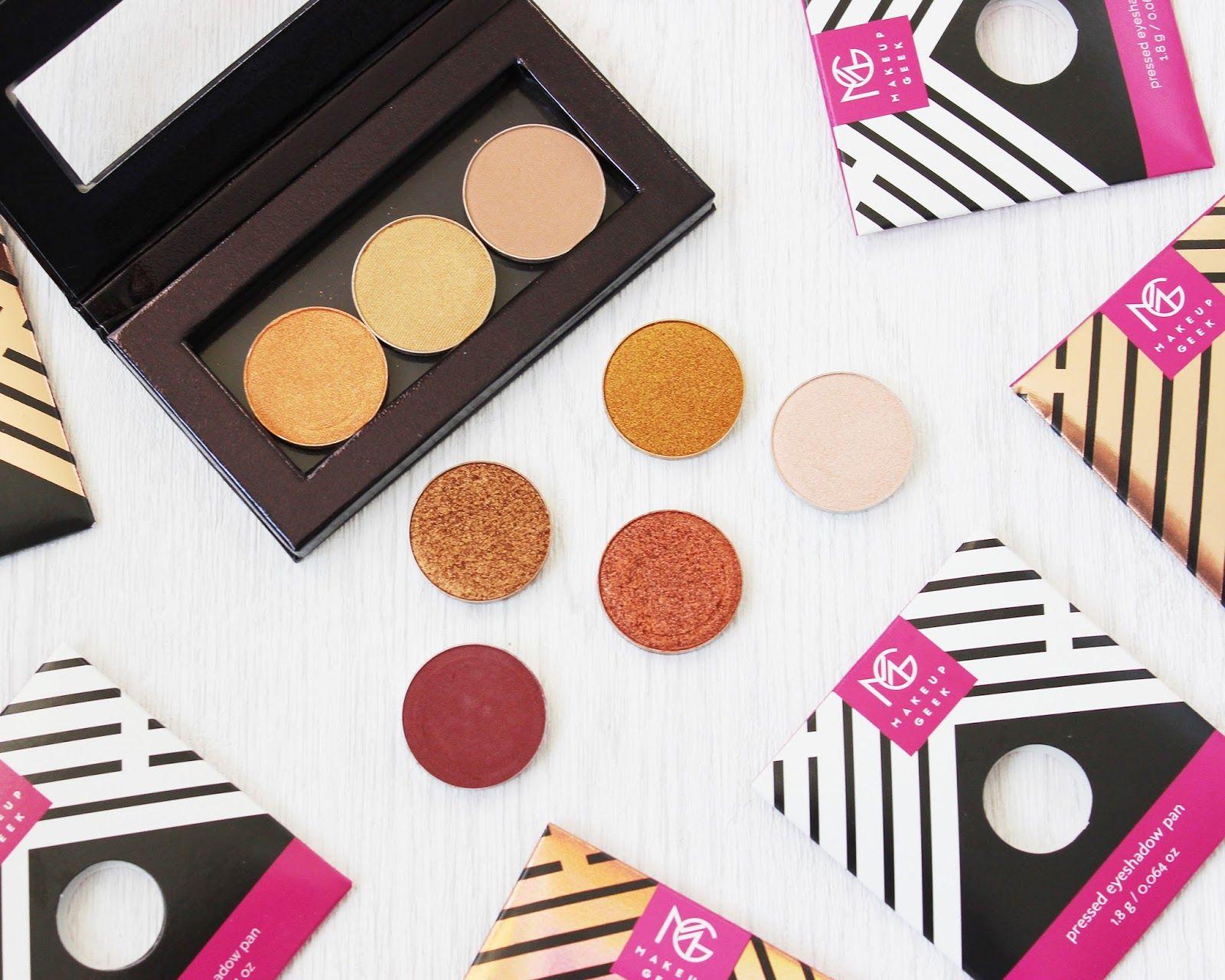 Makeup Geek eye shadow review and swatches Makeup geek