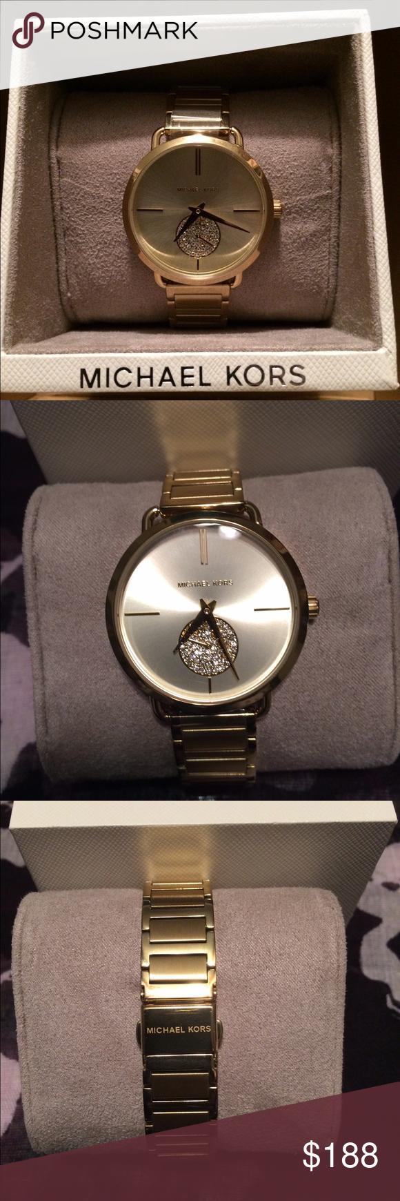 e0d6e5cb67a5 Women s Michael Kors Watch Michael Kors Original MK3639 Women s Portia Gold-Tone  Watch. Michael