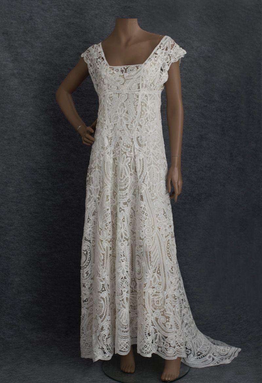 Edwardian lace wedding dress wedding ideas already Pinterest