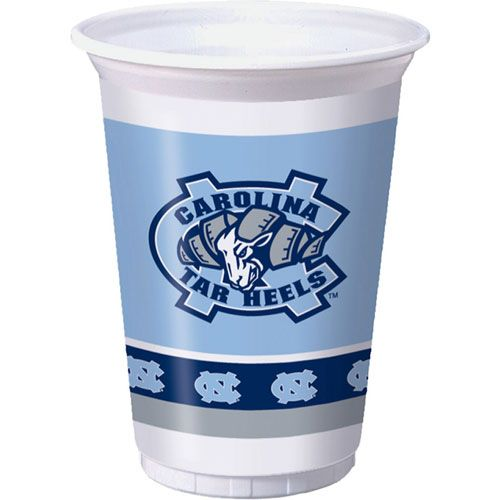 University of North Carolina 20oz Plastic Cups