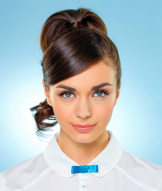 Audrey Hepburn Frisur Style 2 Einfache Pferdeschwanzfrisur