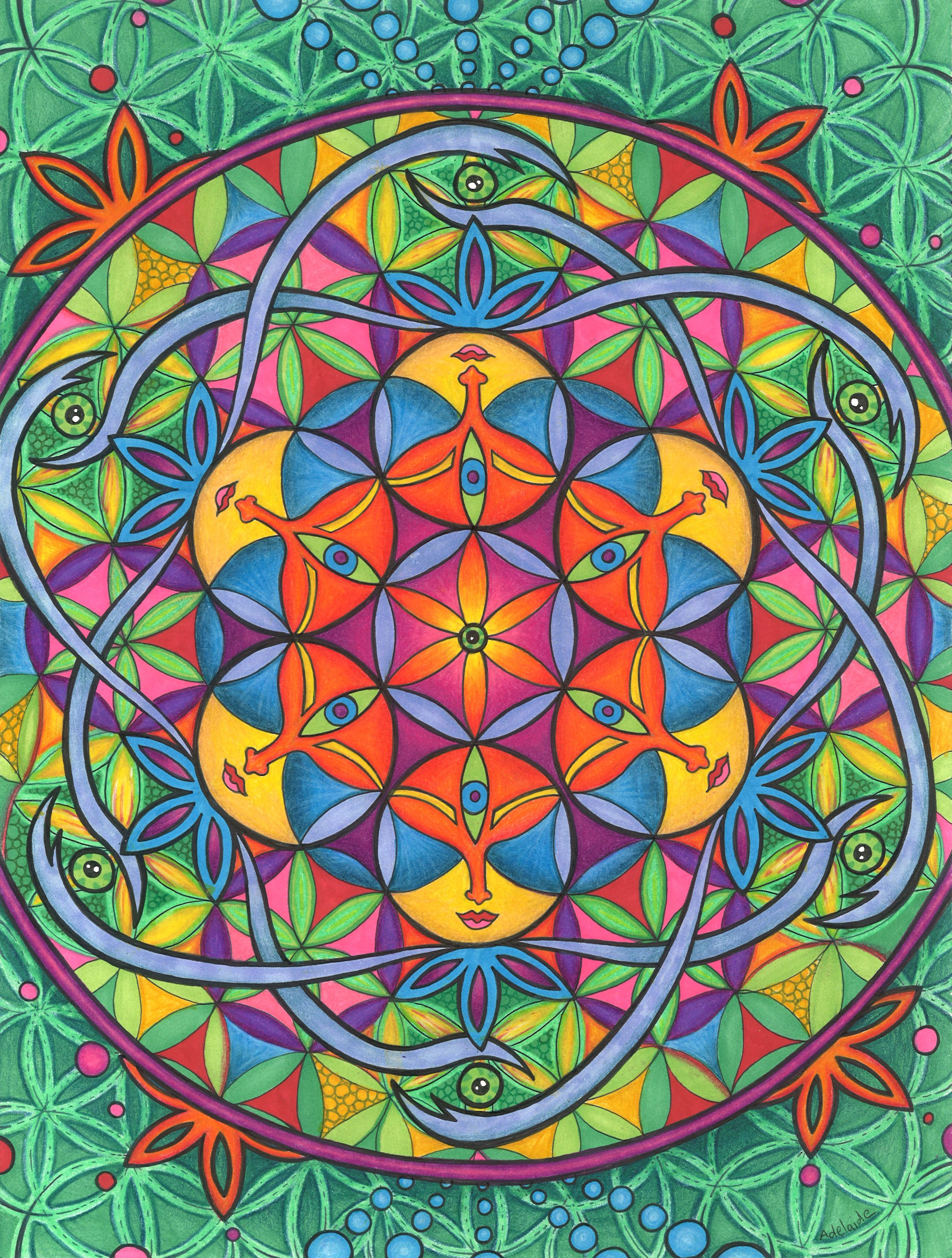 The flower of life sacred geometry symbol made up of circles that the flower of life sacred geometry symbol made up of circles that overlap in a way to create the look of individual flowers is the basis of this page biocorpaavc Image collections