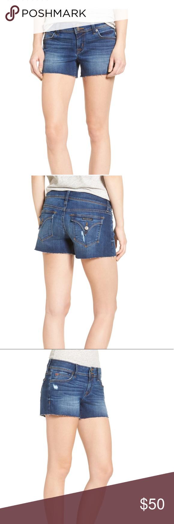 74fd42884 Hudson Croxley Cutoff Denim Shorts Hudson Croxley Cutoff Denim Shorts.  Color is insight. Mid rise. Like new, worn once. Hudson Jeans Shorts Jean  Shorts