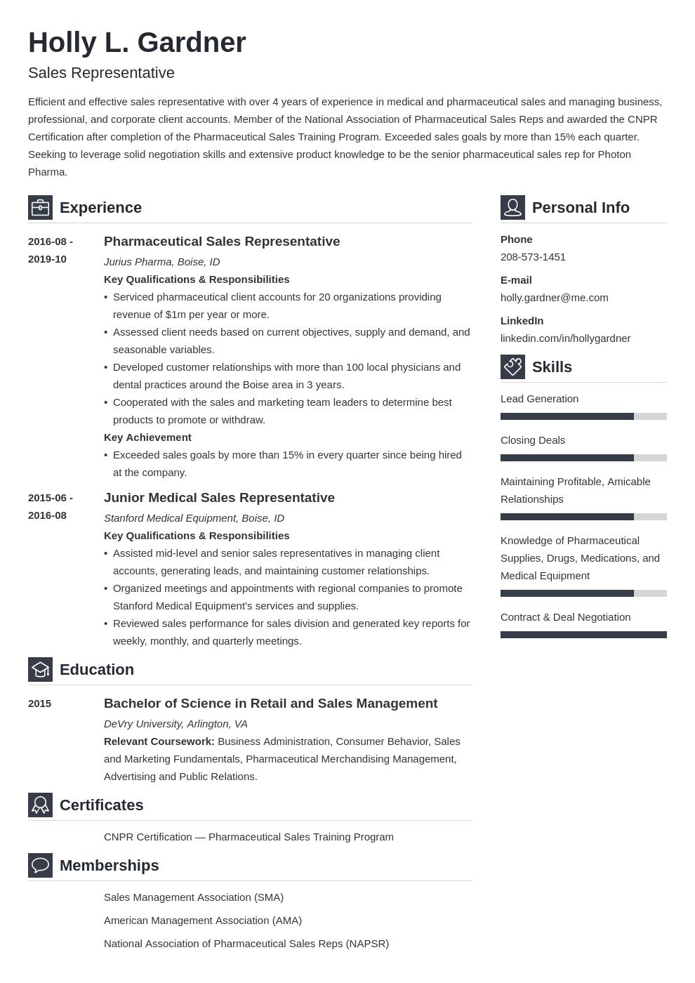 Sales Representative Resume Example Template Vibes Resume Examples Job Resume Examples Sales Resume