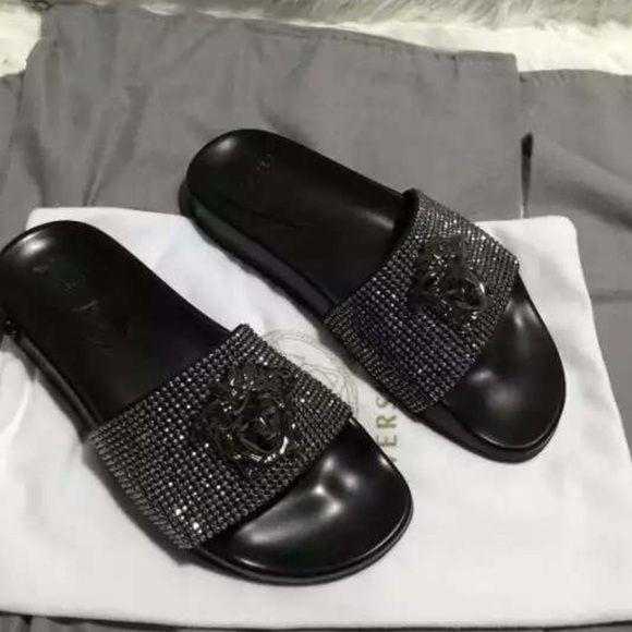 53f425806bc0a Versace Shoes - Versace slides