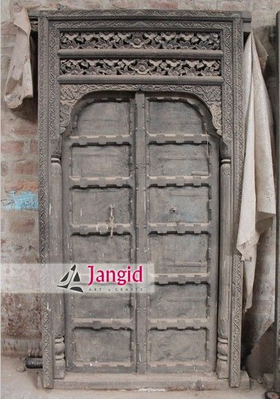 Village Handicrafts Vintage Handmade Old Doors @jangidart This is solid  wooden indian door. We - Village Handicrafts Vintage Handmade Old Doors @jangidart This Is