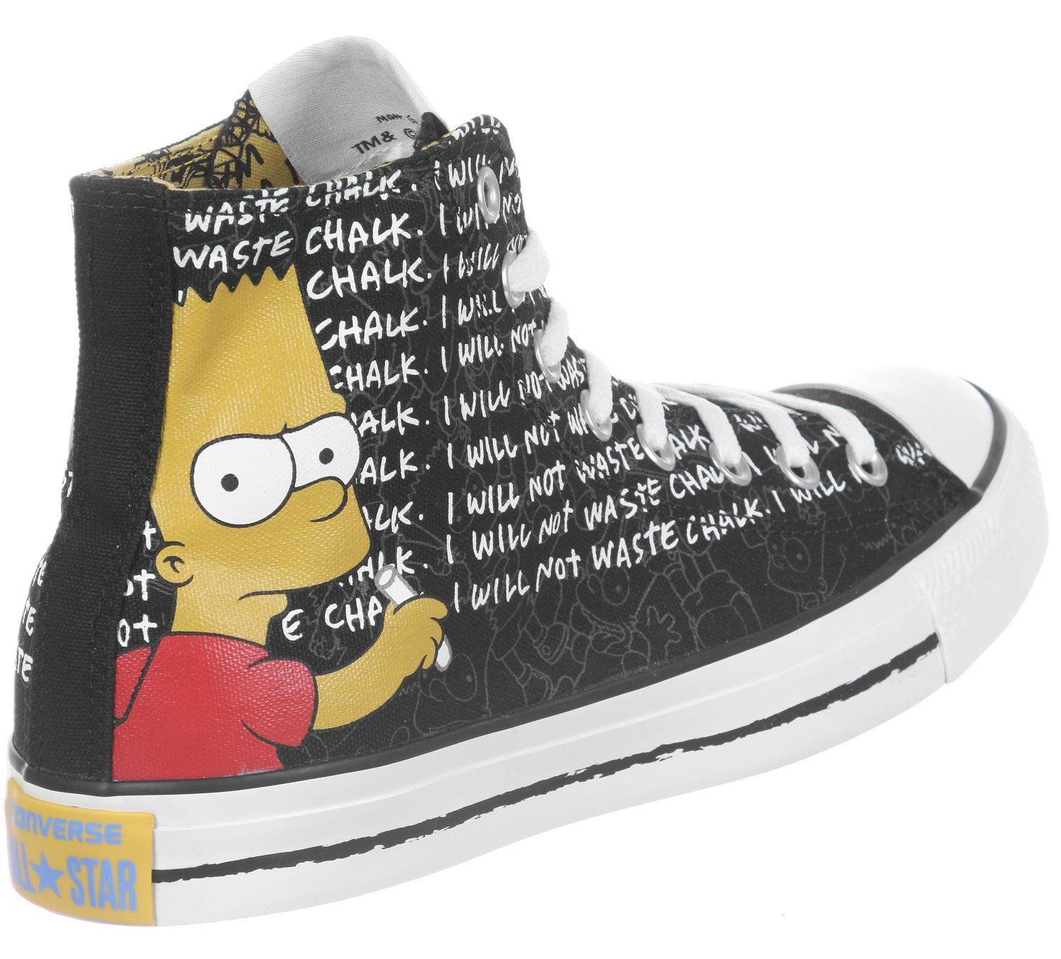 9d0e992745d189 Amazon.com  Converse CT Hi The Simpsons Collection Bart Simpson All Star  Sneaker  Shoes