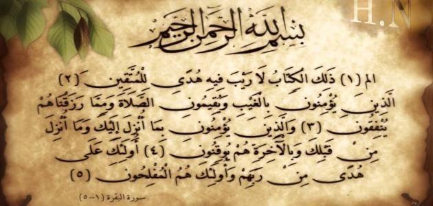 فضل حفظ سورة البقرة How To Memorize Things Quran Karim Arabic Calligraphy