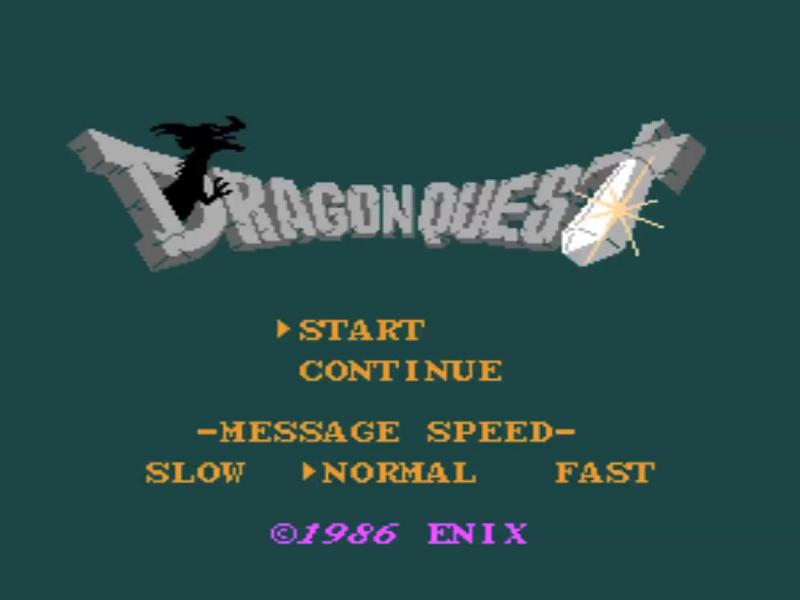 Video Game Start Screens — Castle Wolfenstein Apple II