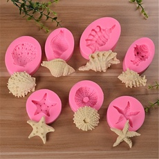 Sea Animals Tentacles Silicone Molds Cupcake Topper Fondant Cake Decorating Tool