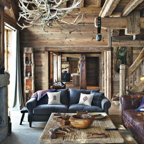 Luxury Lodging At Shl Meribel Home Rustic Interiors Decorating Cabin Living