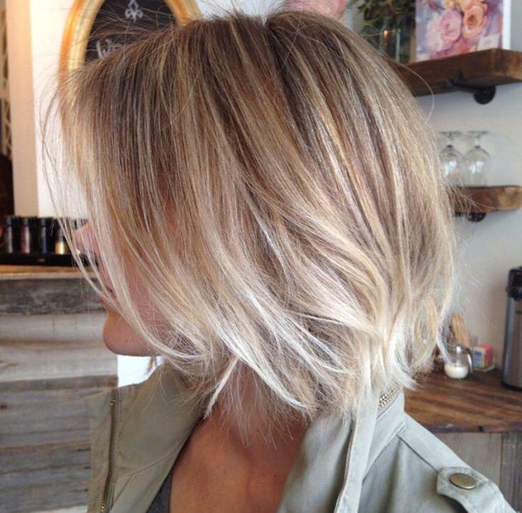 Image Result For Short Balayage Blonde Hairy Pinterest Short