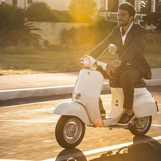 #MarianoDiVaio Mariano Di Vaio: It's a Vespa day!