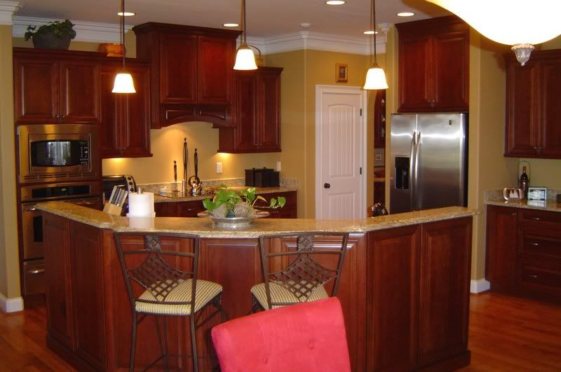 kitchens with new venetiona gold | We have it with cherry ...