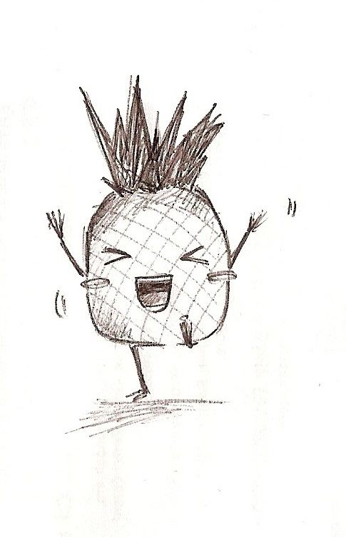 Image Result For Cute Drawings Of Pineapples Pineapple Drawing