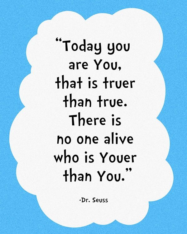picture relating to Dr Seuss Happy Birthday to You Printable named 3 Dr. Seuss Printables Interesting things Yearbook quotations