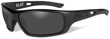 e631419aa16d Wiley X Slay Black Ops Safety Sunglasses with Matte Black Frame and Smoke  Grey Lens