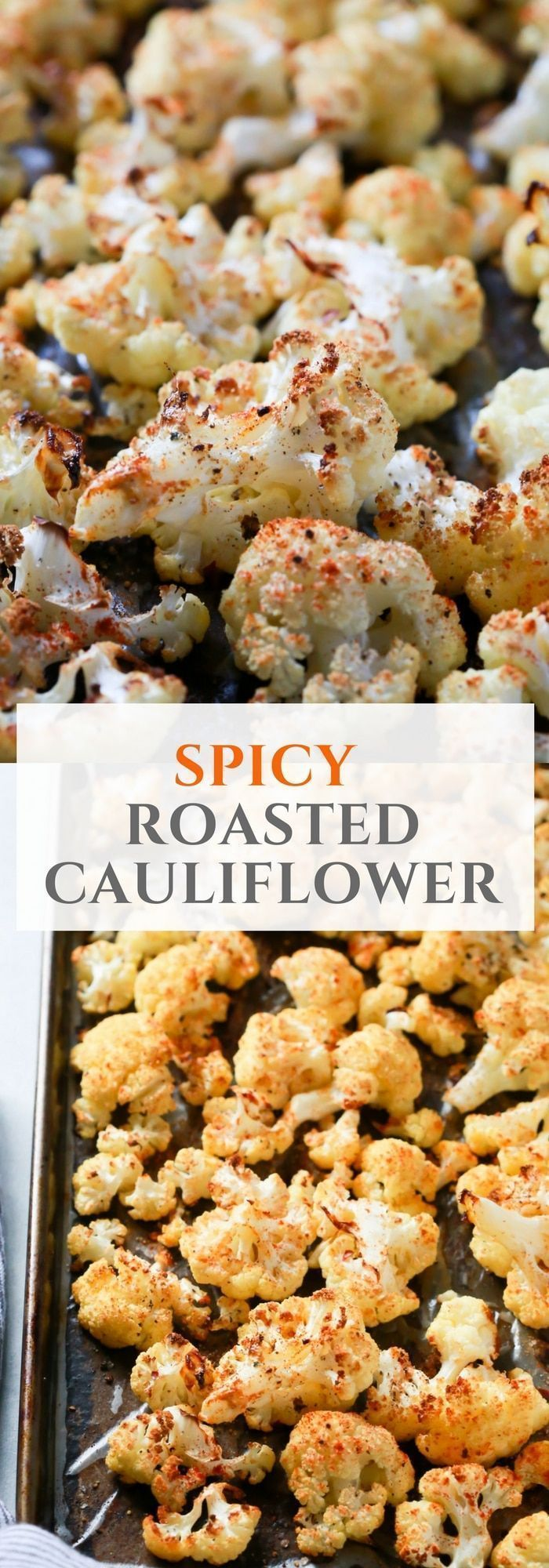 Photo of Easy, quick and delicious Spicy Roasted Cauliflower Recipe for you to try today!…