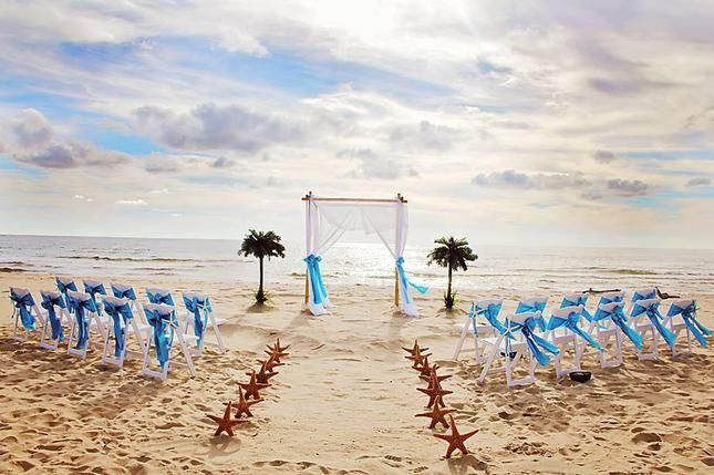 My Barefoot Wedding Michigan Beach Service Sets Up Ceremony Provides Officiant