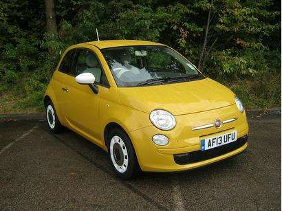 Used 2013 (13 reg) Yellow Fiat 500 for sale on RAC Cars | Fiat ...