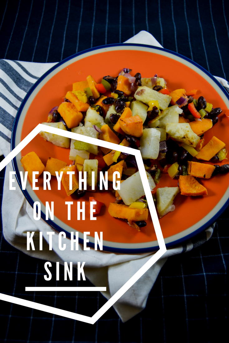 Everything on the kitchen sink breakfast lunch dinner sheet pan ever have a ton of random ingredients floating around your fridge or pantry i do forumfinder Images