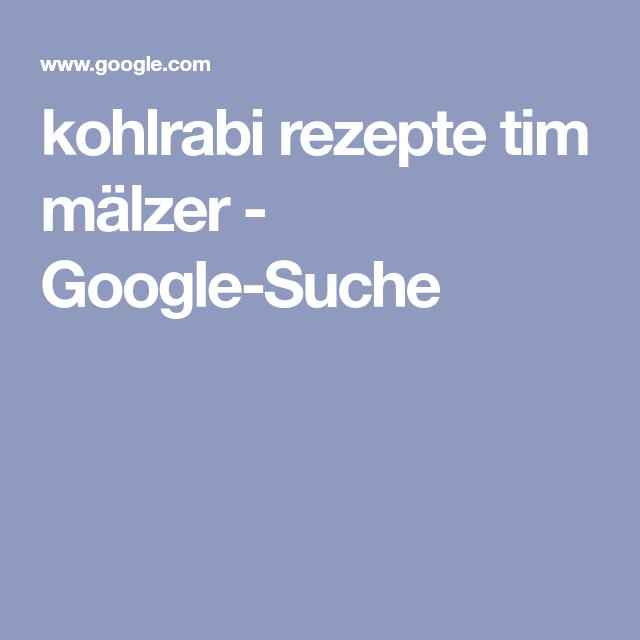 Kohlrabi Rezepte Tim Mälzer