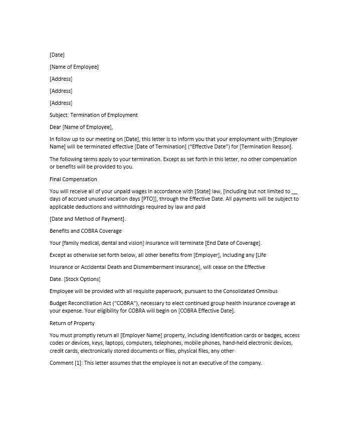 Cobra Insurance Letter Template Seven Things You Probably Didn T