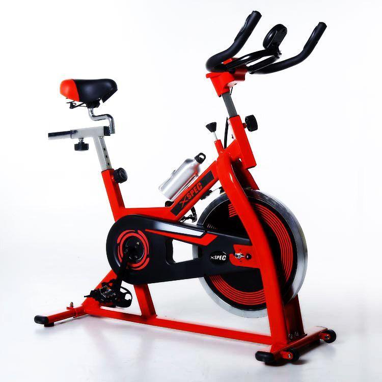 Xspec Pro Stationary Upright Exercise Bike Cardio Indoor ...