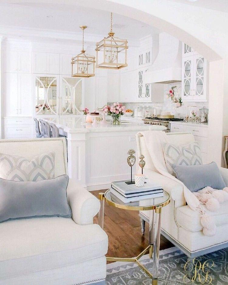 40 Wonderful Coastal Glam Decor For Beautiful Home Decoration