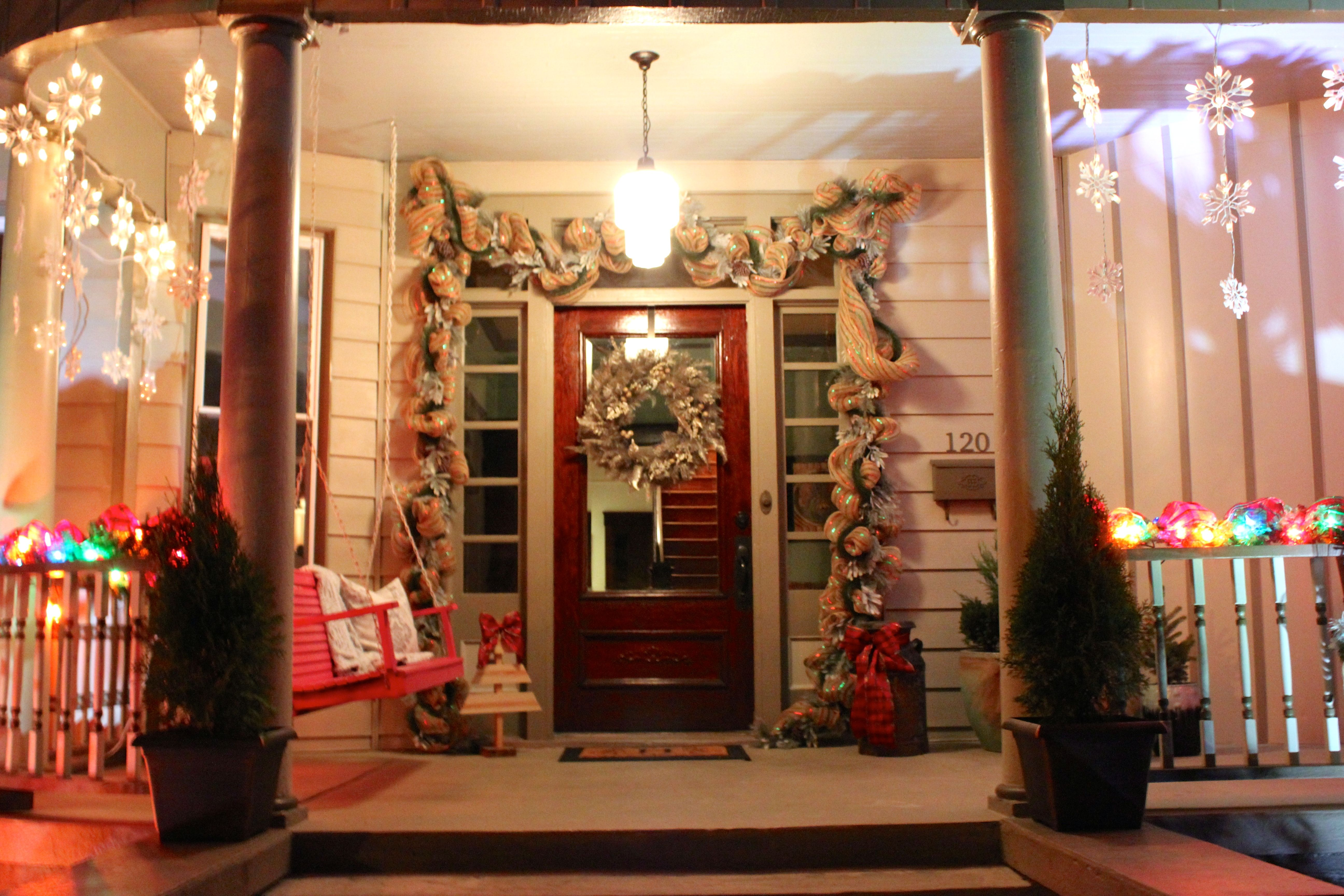 Hathorn Hall Holiday Home Tour Twinkling Lights Twinkle