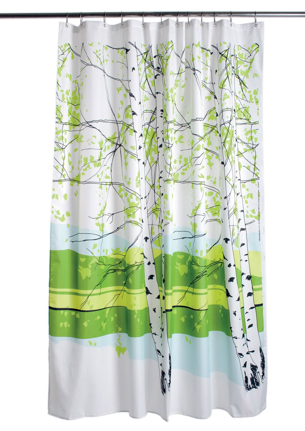 Kaiku Shower Curtain From Marimekko Marimekko Shower Curtain