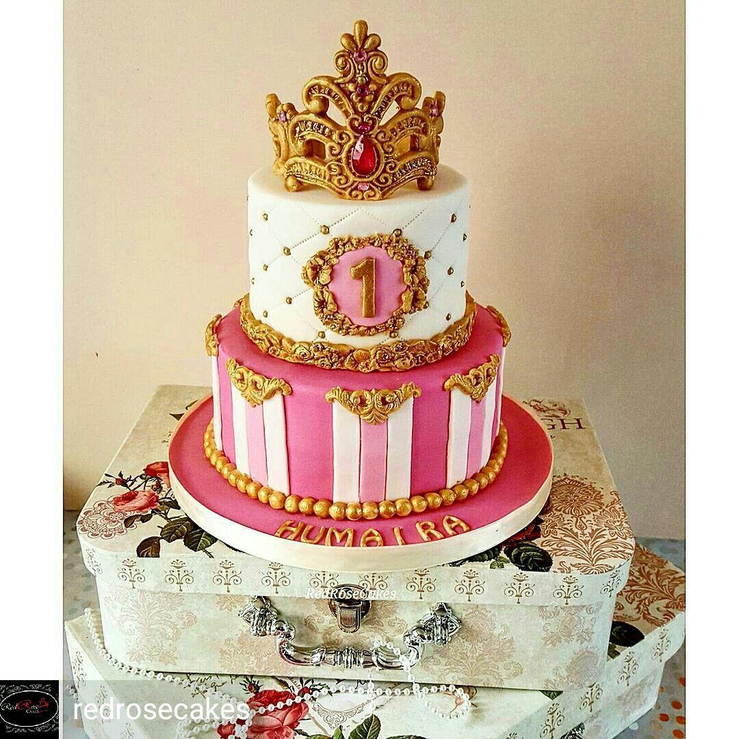 Princess tiara cake   Tiara cake, Cake, Desserts